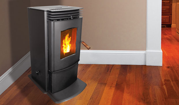 Enviro mini a pellet stove jackman 39 s home heating supply - Pellet stoves for small spaces set ...