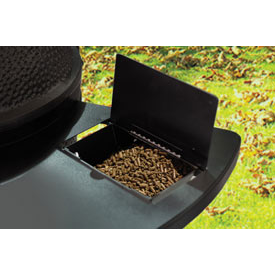 Black Olive Pellet Hopper