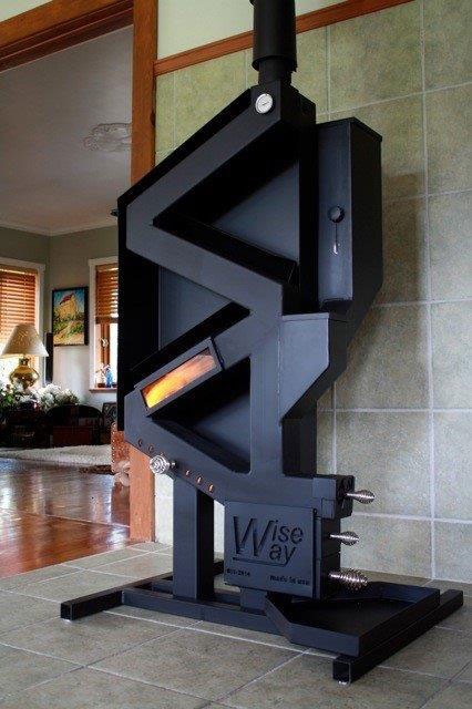 Wiseway 1949 Pellet Stove - Wiseway 1949 Pellet Stove - Jackman's Home Heating Supply