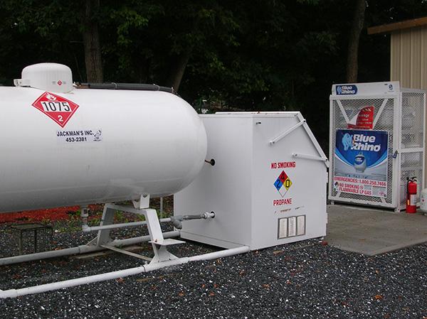 propane fill station