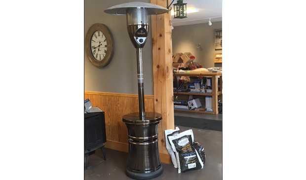 Large Napoleon outdoor space heater