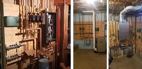 heater installation 3