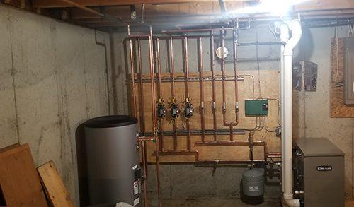 heater installation 5