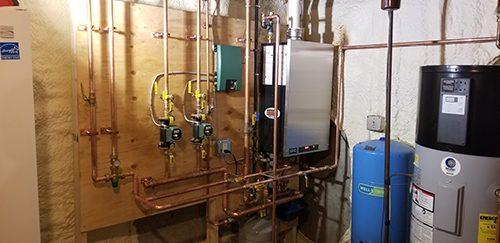 heater installation 7